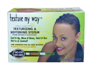 Texture my way Texturizing & Softening System for all Hair Textures, No-Lye, No Mix