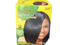 Soft & Beautiful Botanicals No Lye, Sensitive Scalp Relaxer, Regular