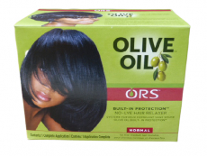Organic Root Stimulator Olive Oil Built-In Protection No-Lye Relaxer, Normal