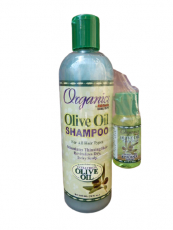 Africa´s Best Organics Olive Oil Shampoo, mit Gratis Smoother & Polisher Serum