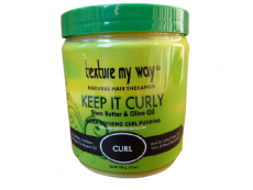 texture my way KEEP IT CURLY Shea Butter & Olive Oil