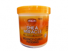 African Pride Shea Miracle Moisture Intense Bouncy Curls Pudding