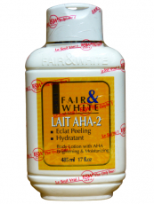 Fair & White Brightening & Moisturizing Body Lotion with AHA