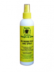 Jamaican Mango & Lime No More Itch Gro Spray, Rasta, Twist, Locks